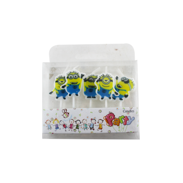 Leuke Minions Candle Cartoon Birthday Cake Candles