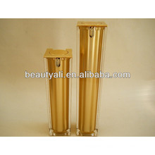 Luxury Square Cosmetics Acrylic Airless Pump Jar 15ml 30ml 40ml 50ml 100ml