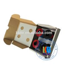 Jeu de cartouches d'encre compatible ruban rouge frama