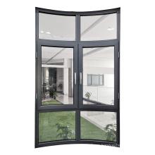 WANJIA modern popular aluminum soundproof casement window