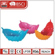 HAIXING Popular leaf Plastic bowl