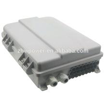 FTTH Fiber Distribution Box, boîte à bornes à fibres optiques extérieures à 24 conducteurs
