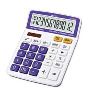 12 цифр двойной дисплей функция проверки настольный калькулятор