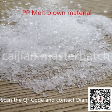 PP Filtering Effect transparent granules for Face Mask