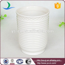 YSb40031-01-t bianco canopus porcelain Produtos de banho tumbler