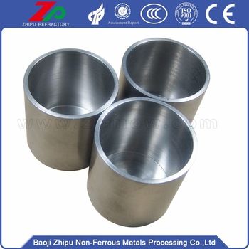 Tungsten Crucibles for Melting