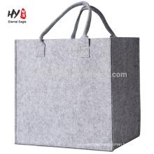 new design custom thick felt bag wholesale