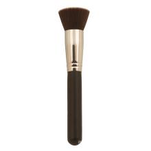 Short Handle Flat Kabuki Brush, Cosmetic Brush, Makeup Brush