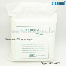 Fabricant Cleanroom Nonwoven / polyester / microfibre Essuyer avec des prix compétitifs