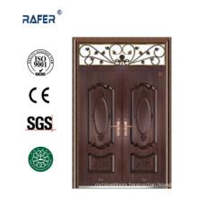 Copper Color Double Leaf Steel Door (RA-S177)