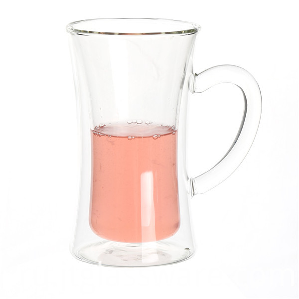 Glass Beer Cup With Handle