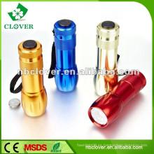 Mini linterna de aluminio llevada más potente barata