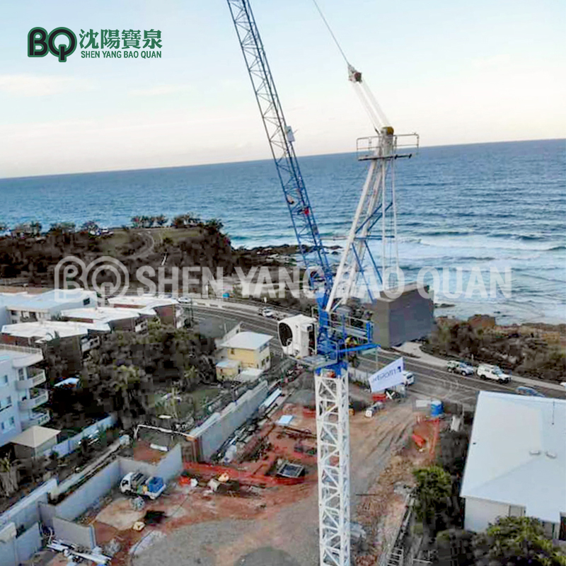 Luffig Jib Tower Crane