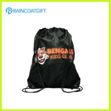 Promotional Customized Logo Polyester Drawstring Backpack RGB-103