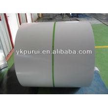 Bobina de aço de cor PR-1.0mm de espessura ou folhas de aço para cobertura ou chapa de aço colorida