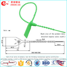 Jcps-302pull Tight Plastic Seals Plastic Tightening Wire Seals Nylon Cable Tie Seal for Sealing Trucks, Bank Box, Warehouse, Bags