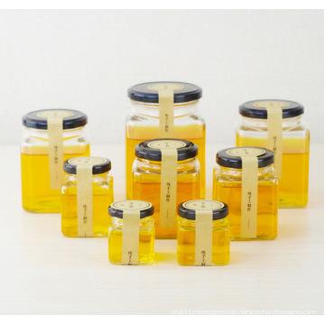 OEM Atacado Cuboid vidro Jam Jar Jars Jar com tampa 50ml 80ml 100ml 200ml 280ml 380ml 500ml 730ml