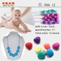 Custom+food+grade+baby+nursing+silicone+necklace