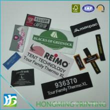 Factory Made Custom Design Centerfold Woven Label