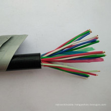 Unshielded UTP Cat5e flat lift travel elevator cable for cctv camera