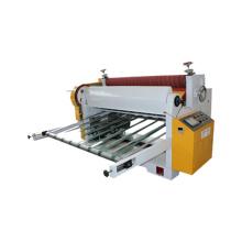 Corrugated paper board carton box single cutter machine
