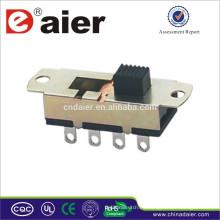 Daier interruptor deslizante ACS23L01 hecho en China interruptor deslizante SMD