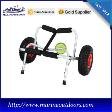 Aluminum beach cart, Foldable kayak cart, Hand canoe cart