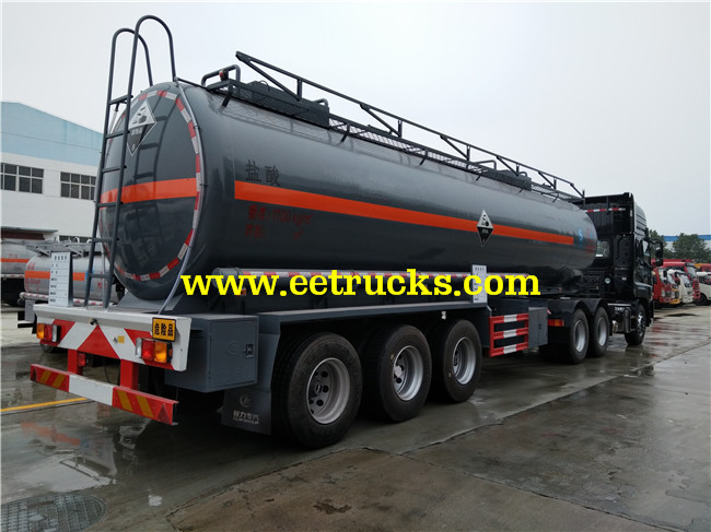 25 CBM Hydrochloric Acid Transportations Trailers