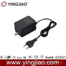 Adaptateur de puissance de 15W AC DC CATV avec du CE