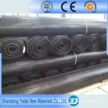 Construção Buliding plástica de Biaxial Geogrid ASTM Buliding da fibra de vidro para a construção de estradas
