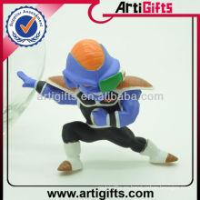 3D dibujos animados PVC muñeca fashional china novedad