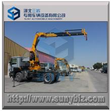 10000 Kg Knuckle Boom Truck Crane