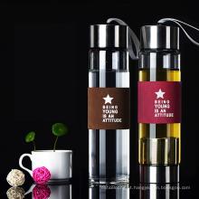 Joyshakerr portátil da garrafa de água do copo de chá da garrafa do infuser do chá com filtro