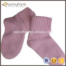 calcetines baratos del bebé del cabrito de la cachemira de la venta caliente