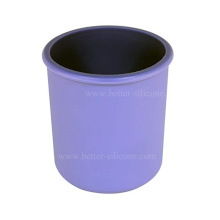 Couvercle de manchon de bocal en silicone pour bouteille de protection personnalisée