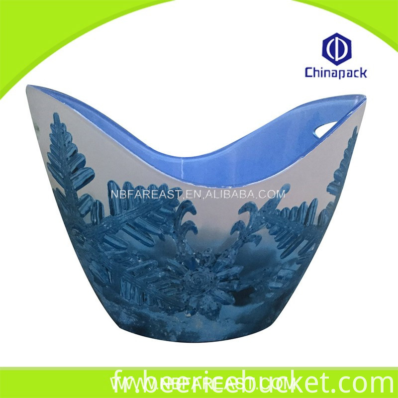 Factory sale independent research unique ice bucket