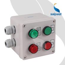 SAIP / SAIPWELL Boîtier de commande à bouton poussoir étanche IP66