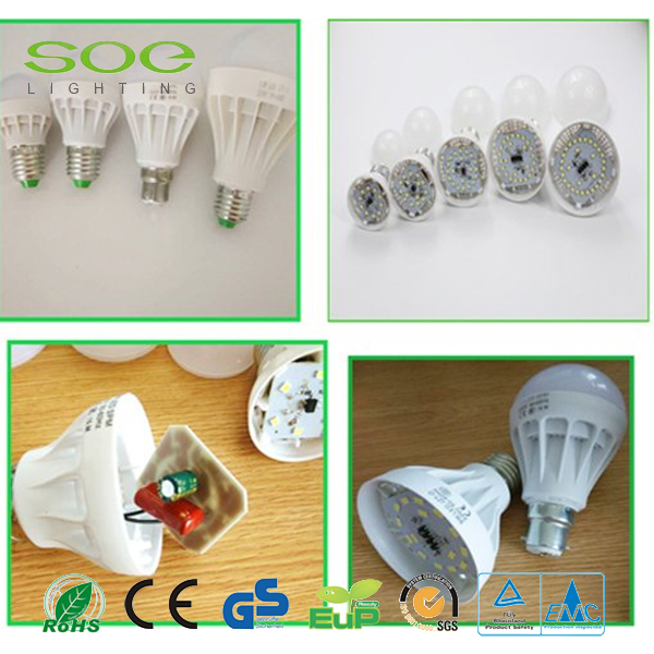 3W plastic LED Bulb Light
