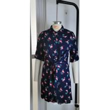 Wholesale New Fashion Women Plus Size Print Dress