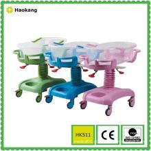 Carrinho de passeio de bebê ajustável para portador do hospital (HK511)