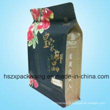 Levante-se empacotamento plástico Zip Lock Zipper Bag