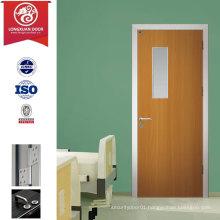 Green Choice for Envirnoment Friendly, Modern Simple Design Glaze Glass Hospital Doors or School Classroom Doors                                                                         Quality Choice
