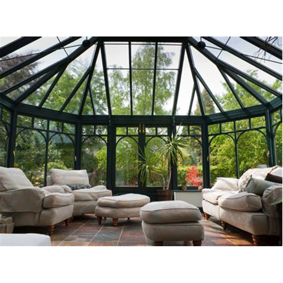 الألومنيوم sunroom البولي sunroom