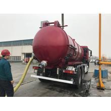 Vacuum Pump Sewage Suction Truck 18CBM
