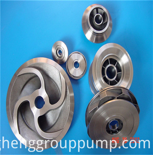 Gray iron injection pump blade guide wheel