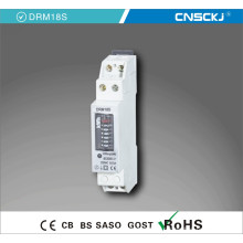 Modelo monofásico de dos fases 50A 220V medidor de carril DIN