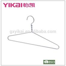 Simple and durable aluminium shirt clothes hanger