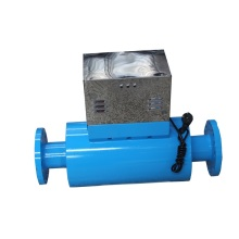 Electromagnetic Waves Water Treatment with Carbon Steel Housing