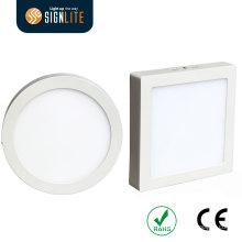 Aufputzmontage Einbau quadratisch oder rund 6W / 12W / 18W / 24W LED Einbauleuchte / LED Einbauleuchte