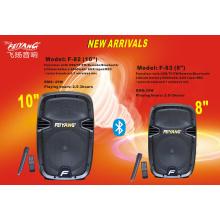 8inch Trolley Speaker с большой мощностью и Bluetooth F81